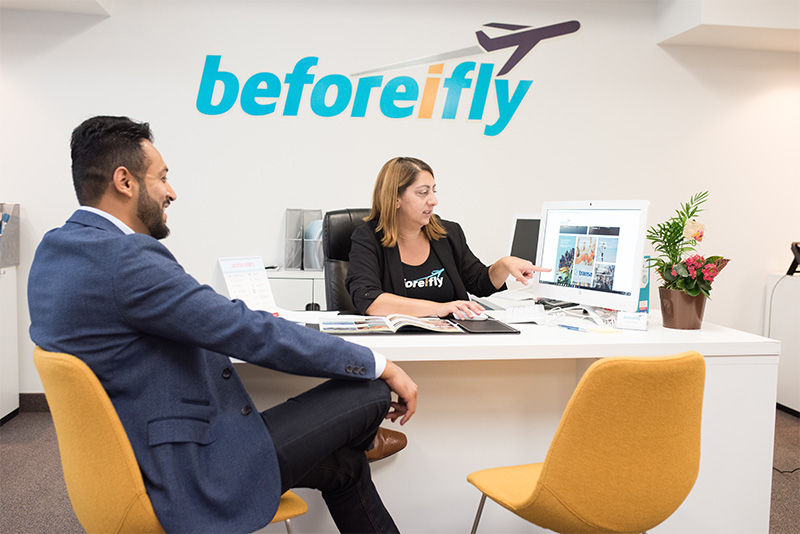 beforeifly travel centre launch hamilton