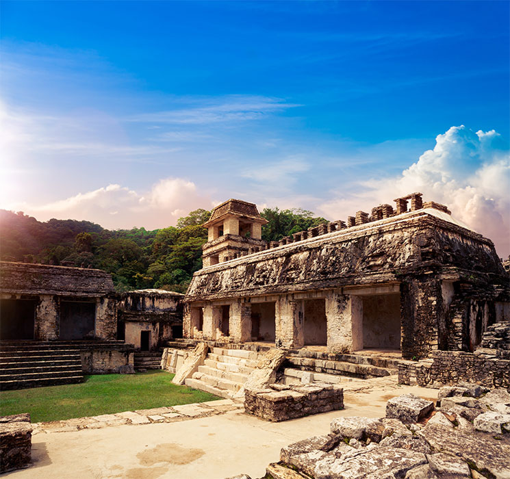 Historic Palenque. Family or group all inclusive vacations to Mexico with Beforeifly